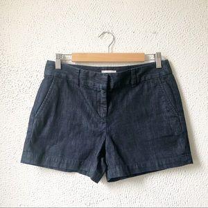 LOFT | Dark Denim Jean Shorts Size 4